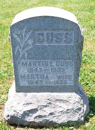 GUSS GUSS, MARTHA MELINDA - Juniata County, Pennsylvania | MARTHA MELINDA GUSS GUSS - Pennsylvania Gravestone Photos