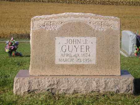 GUYER, JOHN J. - Juniata County, Pennsylvania | JOHN J. GUYER - Pennsylvania Gravestone Photos