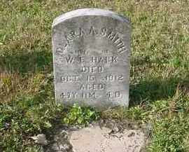 SMITH HACK, CLARA A. - Juniata County, Pennsylvania | CLARA A. SMITH HACK - Pennsylvania Gravestone Photos