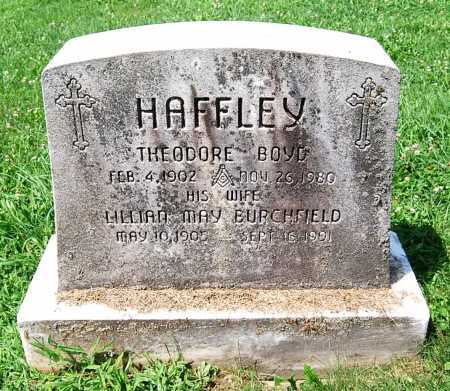 BURCHFIELD HAFFLEY, LILLIAN MAY - Juniata County, Pennsylvania | LILLIAN MAY BURCHFIELD HAFFLEY - Pennsylvania Gravestone Photos