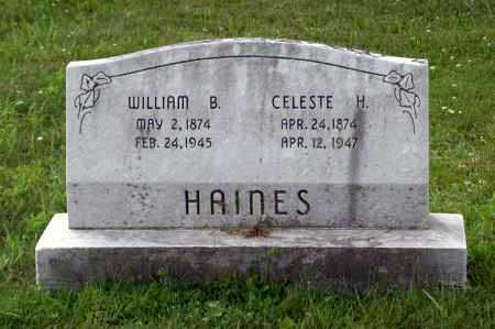 HAINES, HENRIETTA CELESTE - Juniata County, Pennsylvania   HENRIETTA CELESTE HAINES - Pennsylvania Gravestone Photos