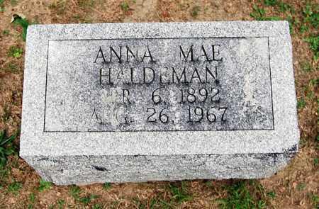 HALDEMAN, ANNA MAE - Juniata County, Pennsylvania | ANNA MAE HALDEMAN - Pennsylvania Gravestone Photos