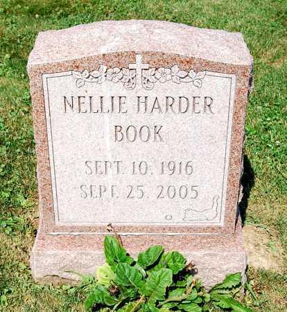BOOK HARDER, NELLIE WALROD - Juniata County, Pennsylvania | NELLIE WALROD BOOK HARDER - Pennsylvania Gravestone Photos