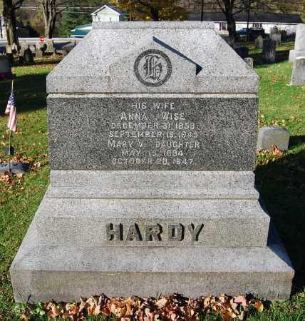 HARDY, ANNA - Juniata County, Pennsylvania | ANNA HARDY - Pennsylvania Gravestone Photos