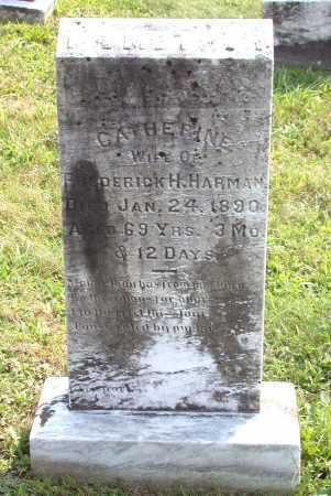 HARMAN, CATHERINE - Juniata County, Pennsylvania | CATHERINE HARMAN - Pennsylvania Gravestone Photos