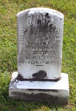 HARMAN, FREDERICK H. - Juniata County, Pennsylvania   FREDERICK H. HARMAN - Pennsylvania Gravestone Photos