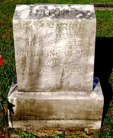 HARRIS, GEORGE CUDDY - Juniata County, Pennsylvania | GEORGE CUDDY HARRIS - Pennsylvania Gravestone Photos