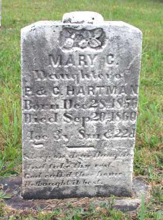 HARTMAN, MARY C. - Juniata County, Pennsylvania | MARY C. HARTMAN - Pennsylvania Gravestone Photos
