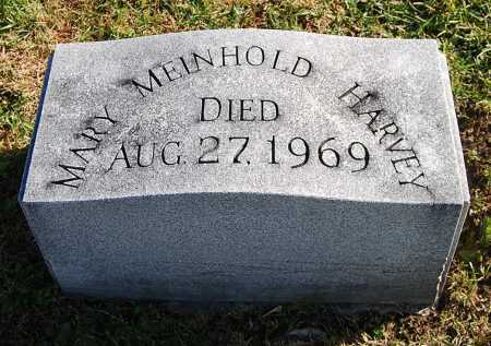 HARVEY, MARY MEINHOLD - Juniata County, Pennsylvania | MARY MEINHOLD HARVEY - Pennsylvania Gravestone Photos