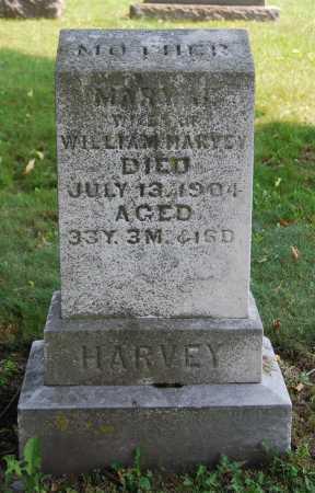 HARVEY, MARY J. - Juniata County, Pennsylvania | MARY J. HARVEY - Pennsylvania Gravestone Photos