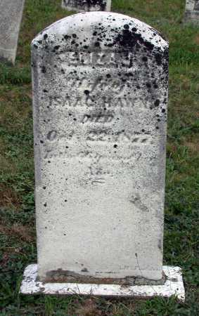 MCALISTER HAWN, ELIZA JANE - Juniata County, Pennsylvania   ELIZA JANE MCALISTER HAWN - Pennsylvania Gravestone Photos