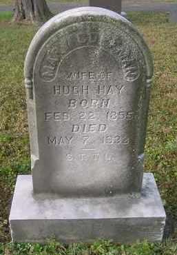 HAY, MARY - Juniata County, Pennsylvania   MARY HAY - Pennsylvania Gravestone Photos