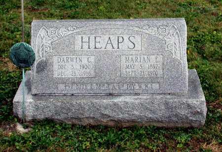 HEAPS, DARWIN C. - Juniata County, Pennsylvania | DARWIN C. HEAPS - Pennsylvania Gravestone Photos