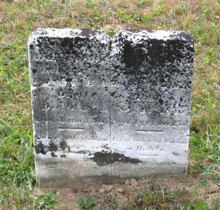 HECK, MALISSA ANN - Juniata County, Pennsylvania | MALISSA ANN HECK - Pennsylvania Gravestone Photos