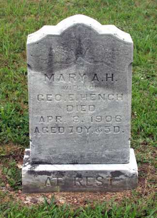 EWING HENCH, MARY ANGELINE HOLMES - Juniata County, Pennsylvania   MARY ANGELINE HOLMES EWING HENCH - Pennsylvania Gravestone Photos