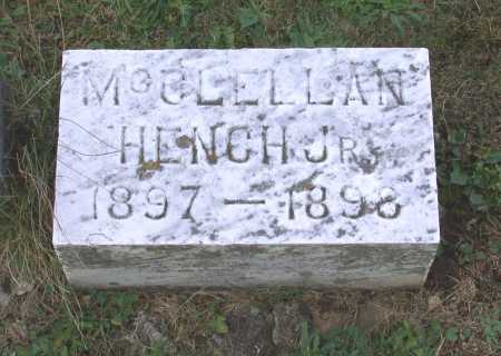 HENCH, MCCLELLAN TURBETT - Juniata County, Pennsylvania | MCCLELLAN TURBETT HENCH - Pennsylvania Gravestone Photos