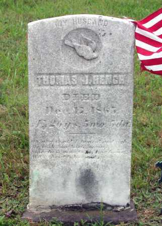 HENCH, THOMAS JORDAN - Juniata County, Pennsylvania | THOMAS JORDAN HENCH - Pennsylvania Gravestone Photos