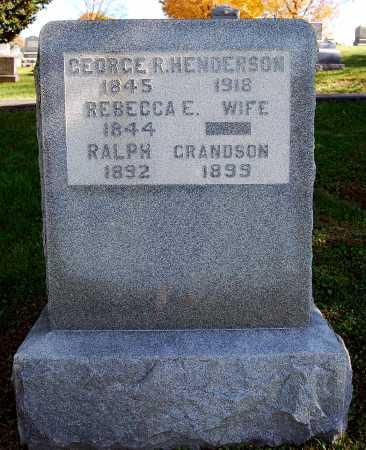 HENDERSON, REBECCA L. - Juniata County, Pennsylvania | REBECCA L. HENDERSON - Pennsylvania Gravestone Photos