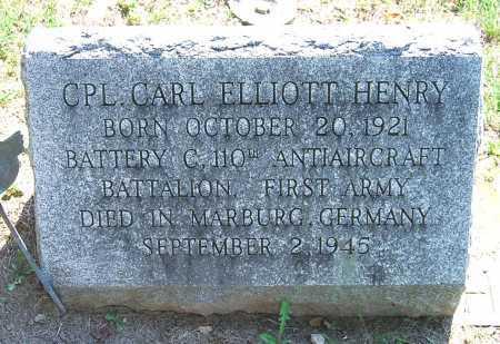 HENRY, CARL ELLIOTT - Juniata County, Pennsylvania | CARL ELLIOTT HENRY - Pennsylvania Gravestone Photos
