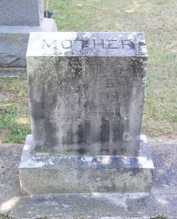 BRUBAKER HENRY, MARY ETTA - Juniata County, Pennsylvania | MARY ETTA BRUBAKER HENRY - Pennsylvania Gravestone Photos