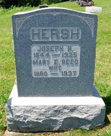 REED HERSH, MARY E. - Juniata County, Pennsylvania | MARY E. REED HERSH - Pennsylvania Gravestone Photos