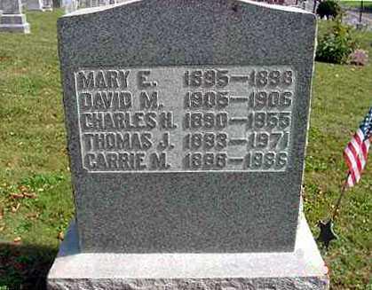 HERSH, CARRIE M. - Juniata County, Pennsylvania | CARRIE M. HERSH - Pennsylvania Gravestone Photos