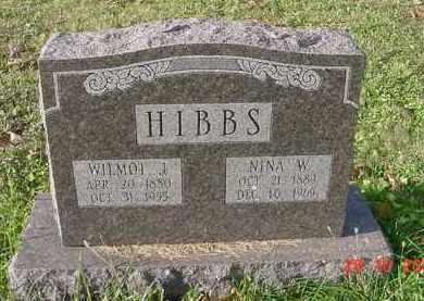 CASNER HIBBS, NINA WEST - Juniata County, Pennsylvania | NINA WEST CASNER HIBBS - Pennsylvania Gravestone Photos