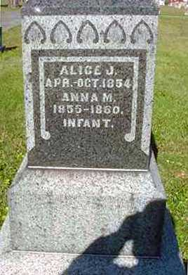 HOLMAN, ANNA M. - Juniata County, Pennsylvania | ANNA M. HOLMAN - Pennsylvania Gravestone Photos