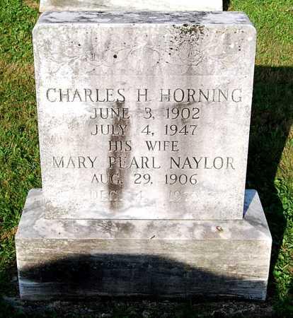 HORNING, MARY PEARL - Juniata County, Pennsylvania | MARY PEARL HORNING - Pennsylvania Gravestone Photos