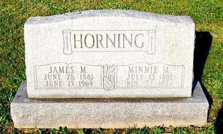 HORNING, MINNIE M. - Juniata County, Pennsylvania | MINNIE M. HORNING - Pennsylvania Gravestone Photos