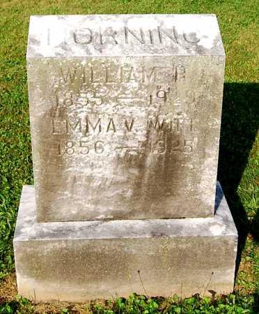 HORNING, EMMA VIOLA - Juniata County, Pennsylvania | EMMA VIOLA HORNING - Pennsylvania Gravestone Photos