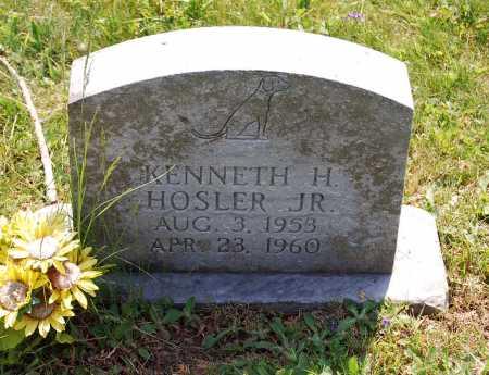 HOSLER, KENNETH H. - Juniata County, Pennsylvania   KENNETH H. HOSLER - Pennsylvania Gravestone Photos