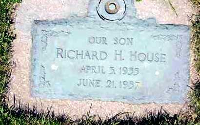 HOUSE, RICHARD H. - Juniata County, Pennsylvania   RICHARD H. HOUSE - Pennsylvania Gravestone Photos