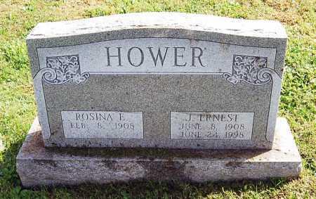 HOWER, ROSINA E. - Juniata County, Pennsylvania | ROSINA E. HOWER - Pennsylvania Gravestone Photos