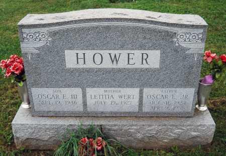 HOWER, OSCAR EDWARD - Juniata County, Pennsylvania   OSCAR EDWARD HOWER - Pennsylvania Gravestone Photos