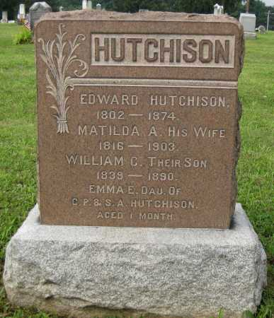 HUTCHISON, WILLIAM C. - Juniata County, Pennsylvania | WILLIAM C. HUTCHISON - Pennsylvania Gravestone Photos