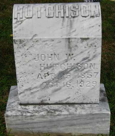 HUTCHISON, JOHN W. - Juniata County, Pennsylvania | JOHN W. HUTCHISON - Pennsylvania Gravestone Photos