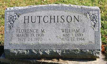 HUTCHISON, WILLIAM J. - Juniata County, Pennsylvania | WILLIAM J. HUTCHISON - Pennsylvania Gravestone Photos