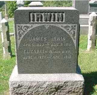 "IRWIN, ELIZABETH ""POLLY"" - Juniata County, Pennsylvania   ELIZABETH ""POLLY"" IRWIN - Pennsylvania Gravestone Photos"