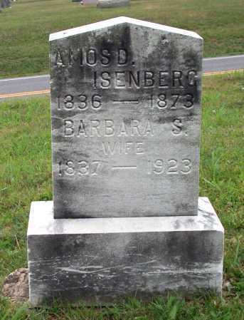 STEVENSON ISENBERG, BARBARA - Juniata County, Pennsylvania   BARBARA STEVENSON ISENBERG - Pennsylvania Gravestone Photos