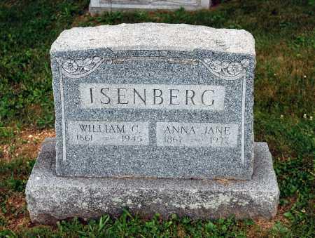 ISENBERG, WILLIAM C. - Juniata County, Pennsylvania | WILLIAM C. ISENBERG - Pennsylvania Gravestone Photos