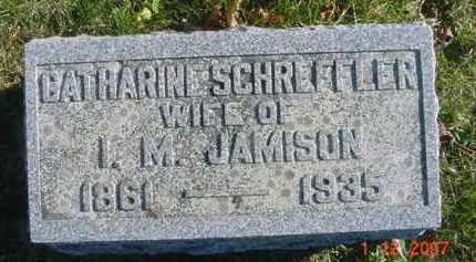 SCHREFFLER JAMISON, CATHARINE - Juniata County, Pennsylvania | CATHARINE SCHREFFLER JAMISON - Pennsylvania Gravestone Photos