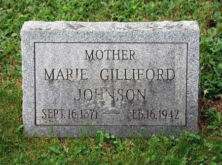 GILLIFORD JOHNSON, MARIE - Juniata County, Pennsylvania | MARIE GILLIFORD JOHNSON - Pennsylvania Gravestone Photos