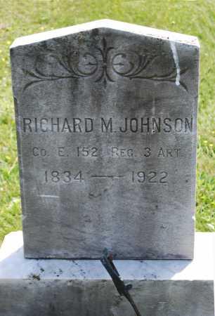 JOHNSON, RICHARD M. - Juniata County, Pennsylvania | RICHARD M. JOHNSON - Pennsylvania Gravestone Photos