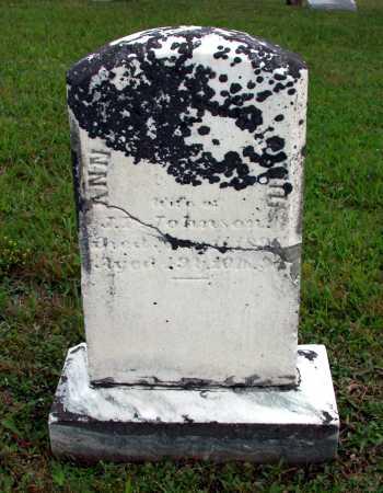 WALDSMITH JOHNSON, ANNA M. - Juniata County, Pennsylvania   ANNA M. WALDSMITH JOHNSON - Pennsylvania Gravestone Photos