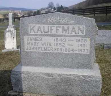CLECK KAUFFMAN, MARY - Juniata County, Pennsylvania | MARY CLECK KAUFFMAN - Pennsylvania Gravestone Photos