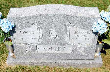 FULTON KEELEY, CAROLINE JOSEPHINE - Juniata County, Pennsylvania | CAROLINE JOSEPHINE FULTON KEELEY - Pennsylvania Gravestone Photos