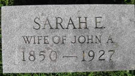 KEGERREIS, SARAH E. - Juniata County, Pennsylvania | SARAH E. KEGERREIS - Pennsylvania Gravestone Photos