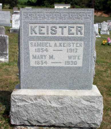 KEISTER, SAMUEL A. - Juniata County, Pennsylvania | SAMUEL A. KEISTER - Pennsylvania Gravestone Photos
