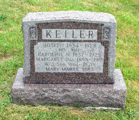 KELLER, CAROLINE M. - Juniata County, Pennsylvania | CAROLINE M. KELLER - Pennsylvania Gravestone Photos